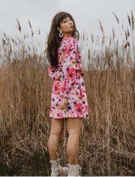 Robe imprimé floral bohème - Boutique L'anana(s)