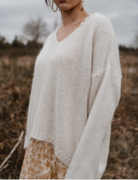 Pull en mohair oversize gipsy - Boutique L'ananas