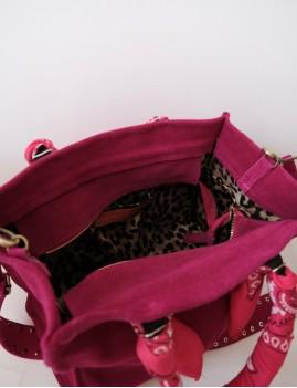 Sac en cuir hippie girly - Boutique L'anana(s)
