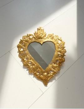 Miroir exvoto gold bohème - Boutique L'anana(s)