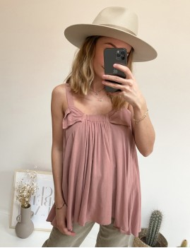 Top rose hippie - Boutique L'anana(s)
