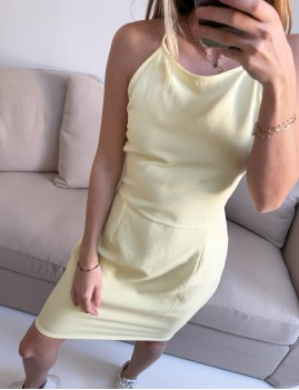 Robe dos croisé bohème - Boutique L'anana(s)
