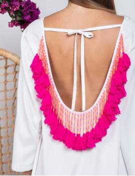 Robe dos nu hippie - Boutique L'anana(s)