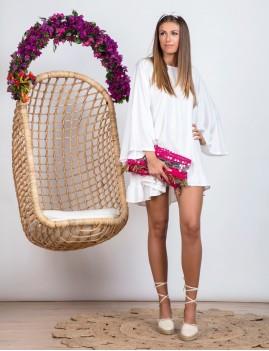 Robe dos nu bohème - Boutique L'anana(s)
