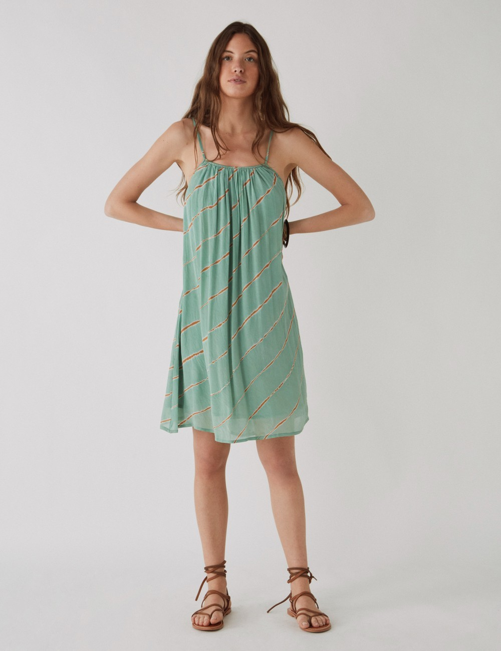 Robe courte tie and dye - Boutique L'anana(s)