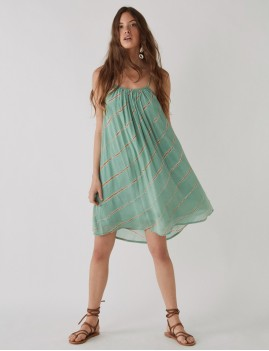 Robe courte tie and dye hippie - Boutique L'anana(s)