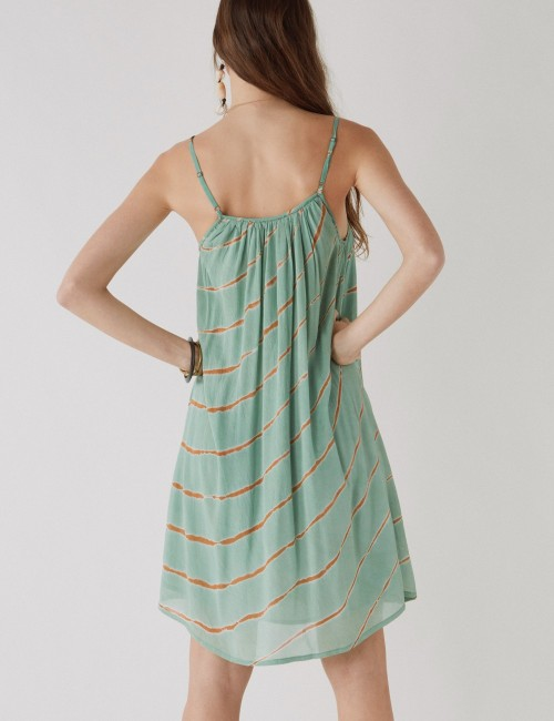 Robe courte tie and dye gipsy - Boutique L'anana(s)