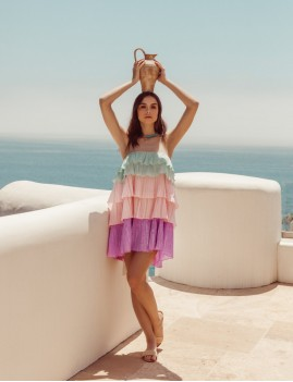 Robe bustier amovible hippie - Boutique L'anana(s)