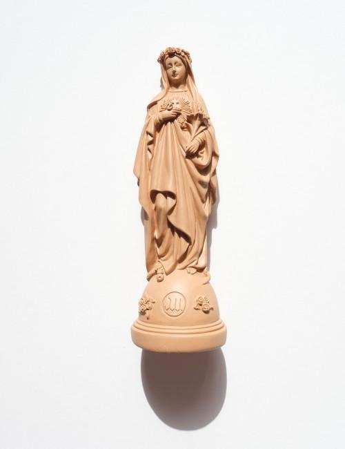Statuette vierge aux fleurs pop MARIE - Boutique L'anana(s)