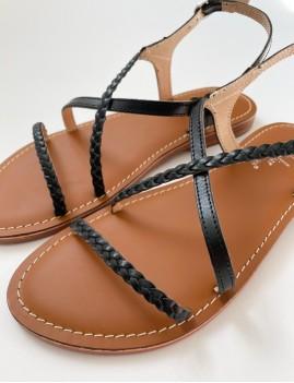 Sandales bohème noires - Boutique L'anana(s)