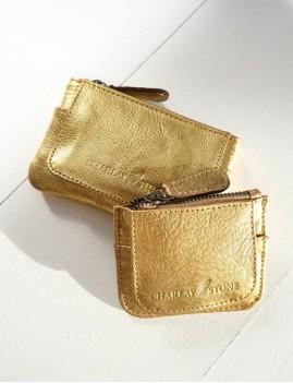Mini porte monnaie doré - Boutique L'anana(s)