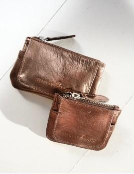 Mini porte monnaie bronze - Boutique L'anana(s)