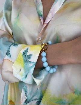 Bracelet en perles pop bohème - Boutique L'anana(s)