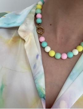 Collier en perles hippie - Boutique L'anana(s)