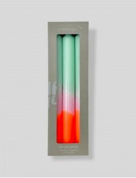 Lot de 3 bougies néon bohème - Boutique L'anana(s)