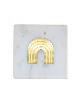 Dessous de verre en marbre - Boutique L'ananas