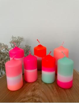 Lot de 2 bougies néon - Boutique L'anana(s)