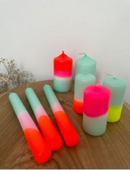 Lot de 3 bougies bohème - Boutique L'anana(s)