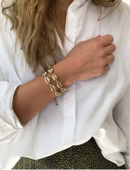 Bracelet coquillages bohème - Boutique l'ananas