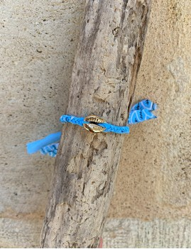 Bracelet bandana coquillage - Boutique l'ananas