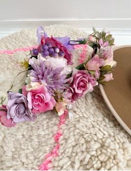 Couronne de fleurs gispy - Boutique L'anana(s)