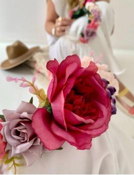 Couronne de fleurs hippie - Boutique L'anana(s)