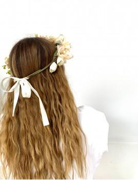 Couronne de fleurs gipsy girl - Boutique L'anana(s)