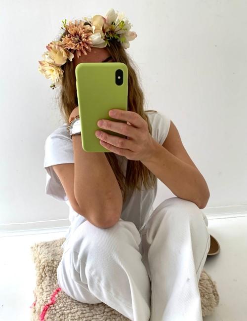 Couronne de fleurs bohème FLEURS12 - Boutique L'anana(s)