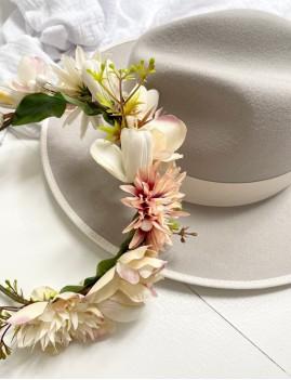 Couronne de fleurs bohemian girl - Boutique L'anana(s)