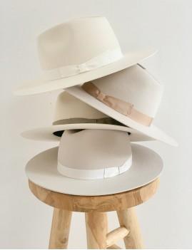 Chapeau laine hippie chic off-white LENA - Boutique L'anana(s)