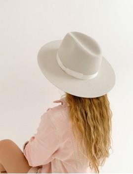 Chapeau hippie laine off-white ROMY - Boutique L'anana(s)