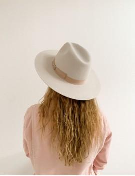 Chapeau boho off-white LENA - Boutique L'anana(s)
