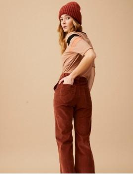 Pantalon velours retro ELISABETH Wild Hipanema boho chic - Boutique L'anana(s)