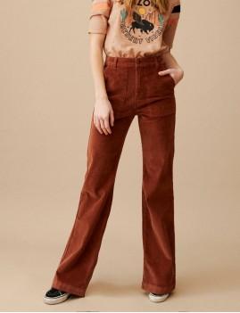 Pantalon velours retro ELISABETH Wild Hipanema - Boutique L'anana(s)