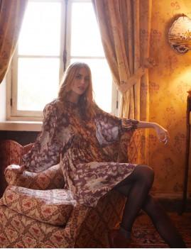 Robe en soie hippie OTTICIA - Boutique L'anana(s)