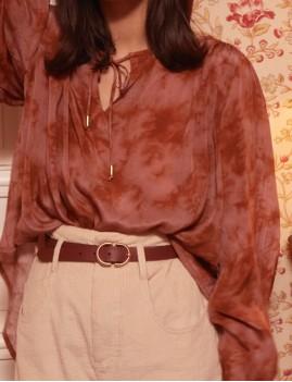 Ceinture en cuir hippie GEMINI - Boutique L'anana(s)