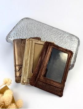 Porte-carte en cuir hippie - Boutique L'anana(s)