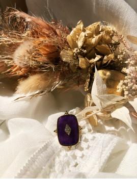 Bague croix doré M21GJ036 boho chic- Boutique L'anana(s)