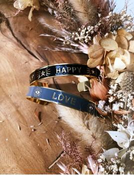 Bracelet jonc hippie - Boutique L'anana(s)