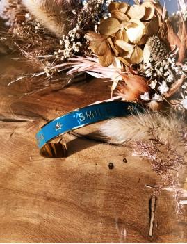 Bracelet jonc karma smile chance M21EB117 - Boutique L'anana(s)