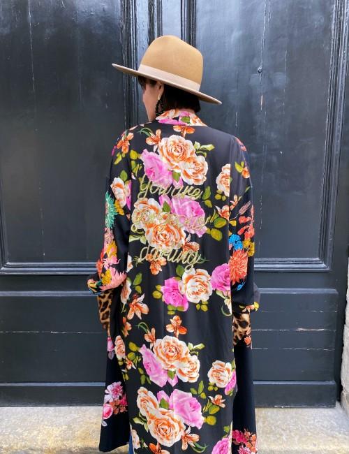 Kimono long hippie - boutique l'ananas