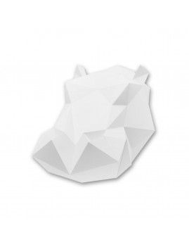 Origami Hippopotame blanc - Boutique l'ananas