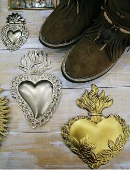 Coeur décoration gold - Boutique l'ananas