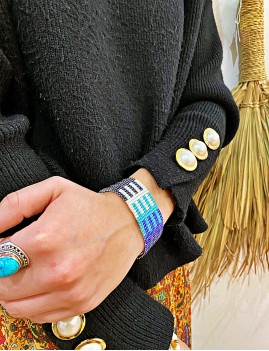 Bracelet turquoise bohème - Boutique l'ananas
