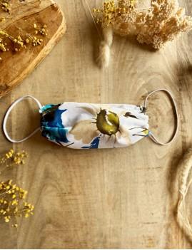 Masque protection tissus fleurs bohème - Boutique l'ananas