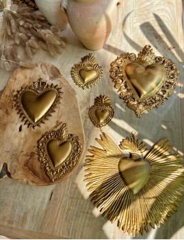 Coeur exvoto mexicain - Boutique l'ananas