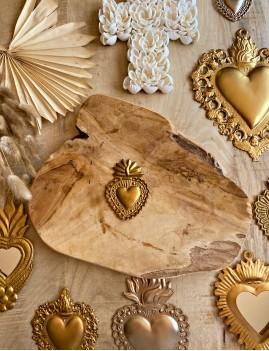 Coeur exvoto hippie - Boutique l'ananas