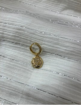 Mini créole motif brillant bohème - Boutique L'ananas