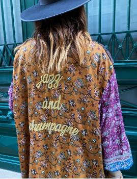 Kimono long bohème - Boutique l'ananas