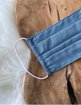 Masque protection tissus bleu - Boutique l'ananas